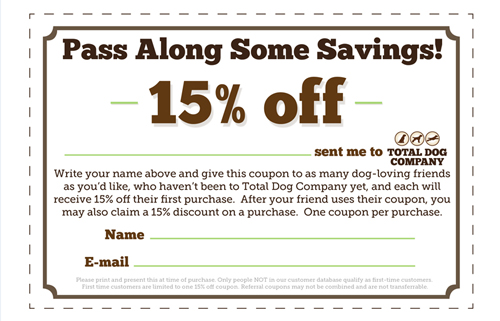 Pass Along Some Savings 15 For New Customers And Those Who Refer