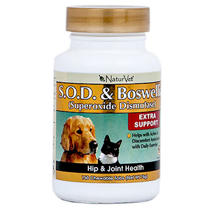 NaturVet S.O.D. & Boswellia Supplement