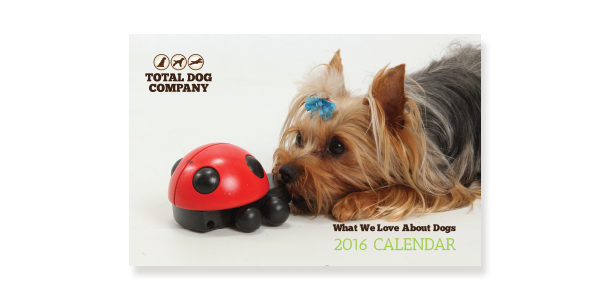 Total Dog Company 2016 Mini Calendars